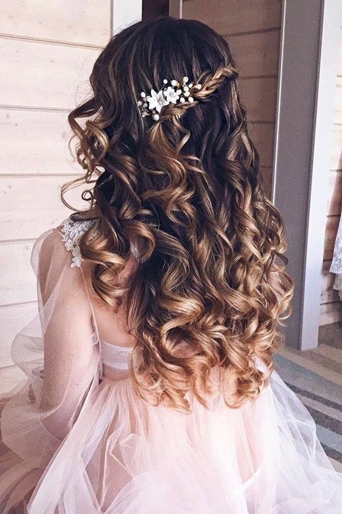 hair down for wedding styles best 25 bridal hairstyles ideas on 3504 | 7d6f89e8eddb6c5a40efe02eee96c8d5