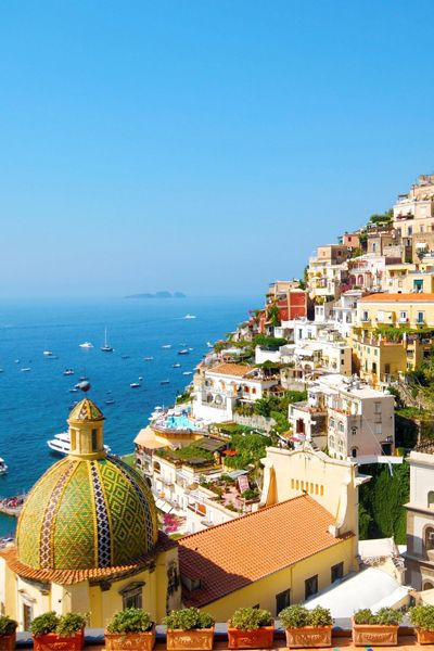 Tell your family to meet you on the Amalfi Coast. Winter is the perfect time to visit. The temperature remains comfortable, rain is relatively rare, and hotel rates are at their lowest.