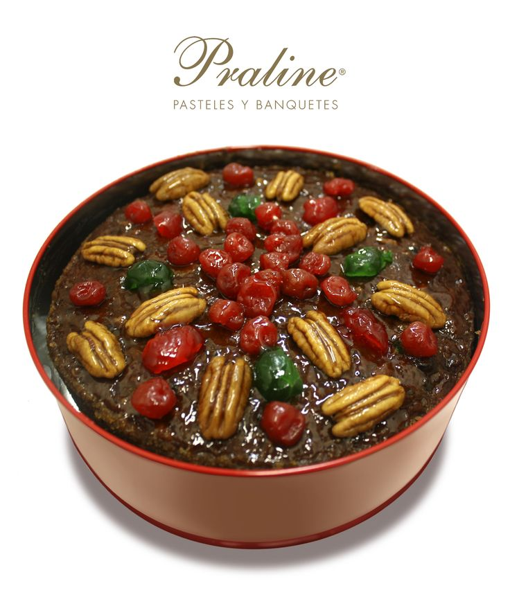 Delicioso Fruitcake en PralineMexico excelente regalo esta Navidad https://www.facebook.com/Praline.Mexico/