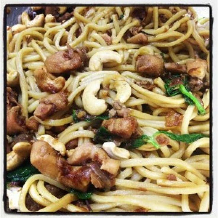 Soy and Basil Chicken Noodles - Cooking with Tenina #thermomix #recipe