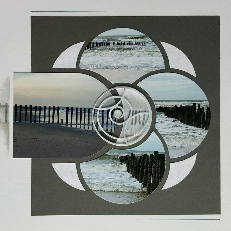 Page de scrap AZZA - Entre terre et mer