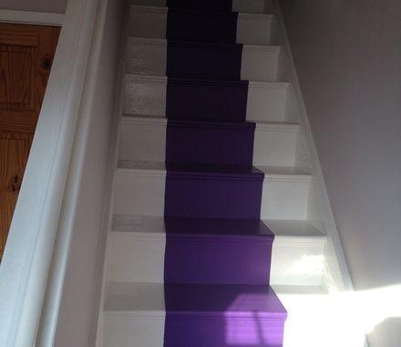 Best Purple Carpet Stairs Carpet Stairs Stairs Carpet Tiles 640 x 480
