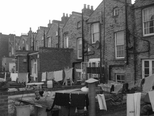 Hackney, London...my first flat