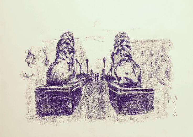 """""""Вечные"""". #SaintPetersburg #art"""
