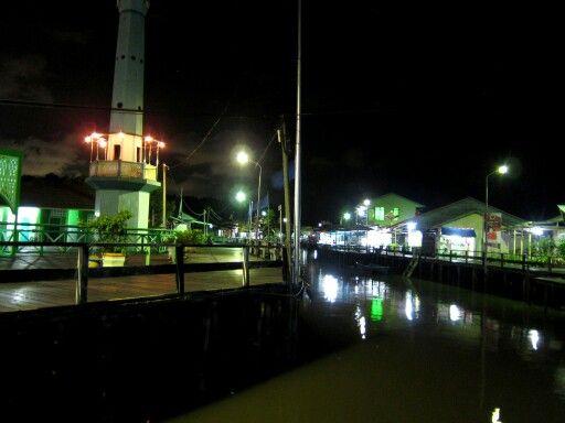 Kampung diatas air, Bontang Kuala, Bontang ...