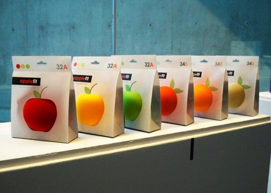 applefit bra packaging