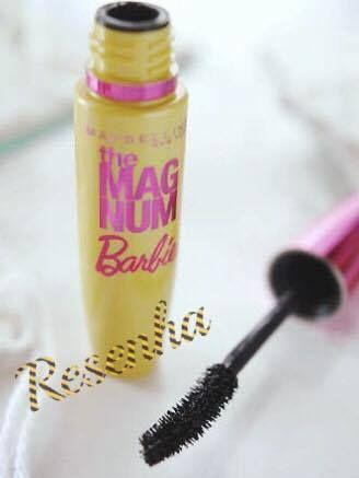 Máscara para cílios -The Mag Num Barbie MAybelline
