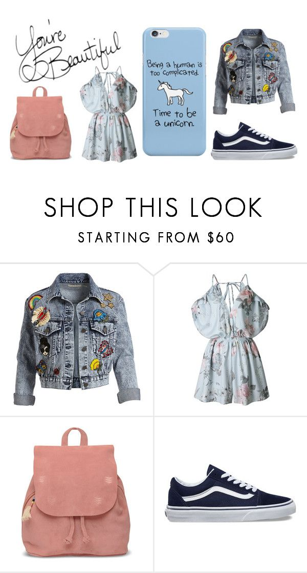 """""""spring"""" by akiratzero on Polyvore featuring Alice + Olivia, TOMS and Vans"""