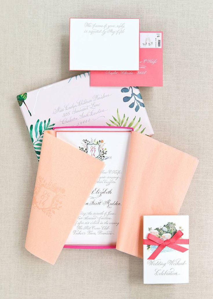 Printed Suite - Wedding designed by Easton Events - International Wedding Planners with offices in Charleston, SC and Charlottesville, VA photo by Aaron Delesie