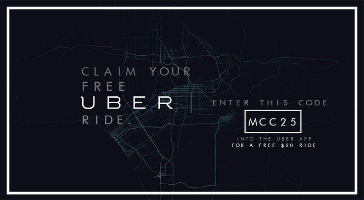 Uber Promo Code mcc25 for free ride