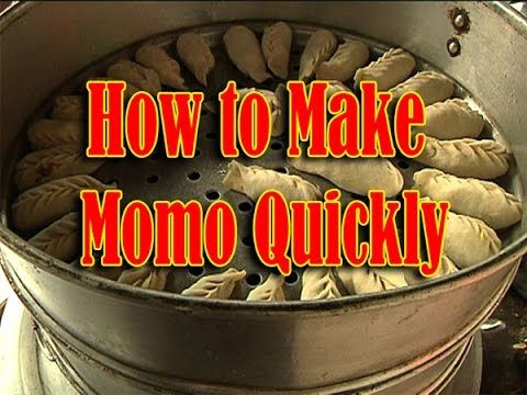How to make momo quickly