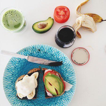 Nutritionist Jessica Cox's breakfast