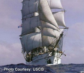 The 284-ton Barque Picton Castle is a traditionally rigged and operated sail training ship based in Lunenburg, Nova Scotia, Canada, but best known for her voyages around the world.