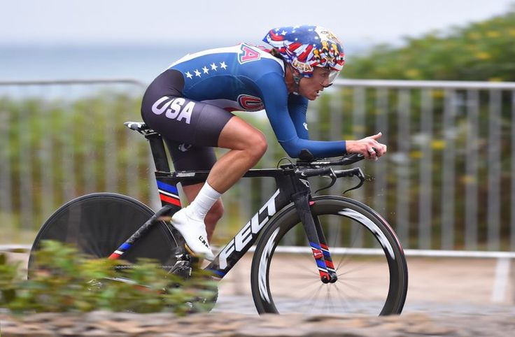 pro cyclist--Kristin Armstrong  professional road bicycle racer and three-time Olympic gold medalist, the winner of the women's individual time trial in 2008, 2012 and 2016.