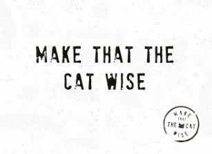 Liefde kaart - Vriendschapskaart - make-that-the-cat-wise