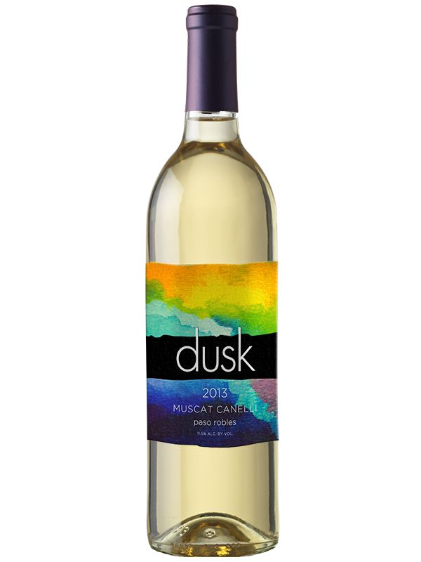 Our 2013 Dusk Muscat Canelli was made from 100% Muscat Canelli grapes. This wine has a large aromatic profile. Ripe pineapple and mango aromas dominate the nose. There is both minerality and freshness coming out toward the finish.