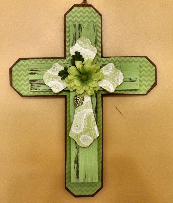 9 best wooden cross wall decor images on Pinterest | Cross wall ...