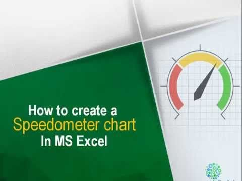 Learn how to make a speedometer in #MSExcel using a few simple tricks...