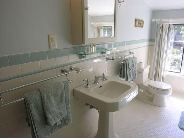 50 best images about vintage tile bathrooms on pinterest for Old tile bathroom renovation