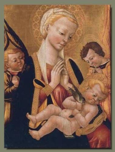 Neri di Bicci (attr.) - Madonna con Bambino e angeli - Pinacoteca Comunale, Città di Castello