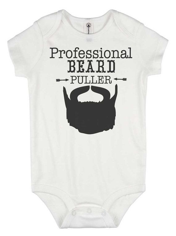 The 25 best nephew gifts ideas on pinterest baby boy gifts funny baby onesie beard puller funny baby gift hipster baby funny negle Choice Image