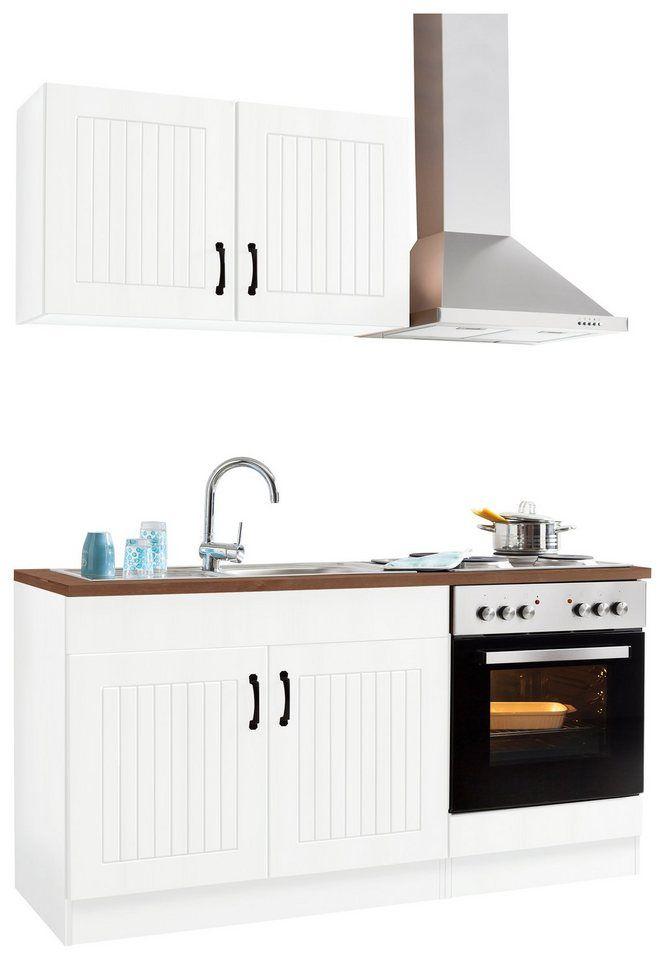 HELD MÖBEL Küchenzeile »Athen«, mit E-Geräten, Breite 160 cm ...