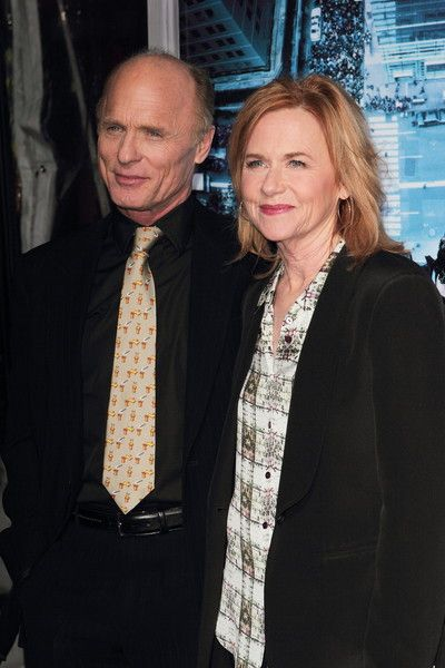 """Ed Harris and Amy Madigan first met in 1981 when they performed together. While filming the movie """"Places in the Heart"""" in 1983 the couple tied the knot; they have starred together in seven movies."""