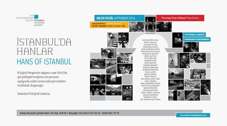Fotoğraf Sergisi: İstanbul'da Hanlar