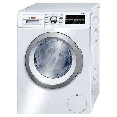 Buy Bosch WAT24460GB Freestanding Washing Machine, 8kg Load, A    Energy Rating, 1200rpm Spin, White Online at johnlewis.com