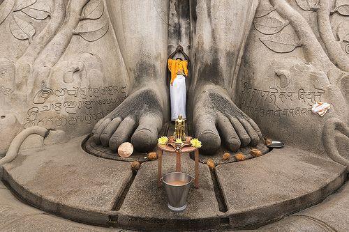 Namaskaram |  Shravanabelagola. Jainismul