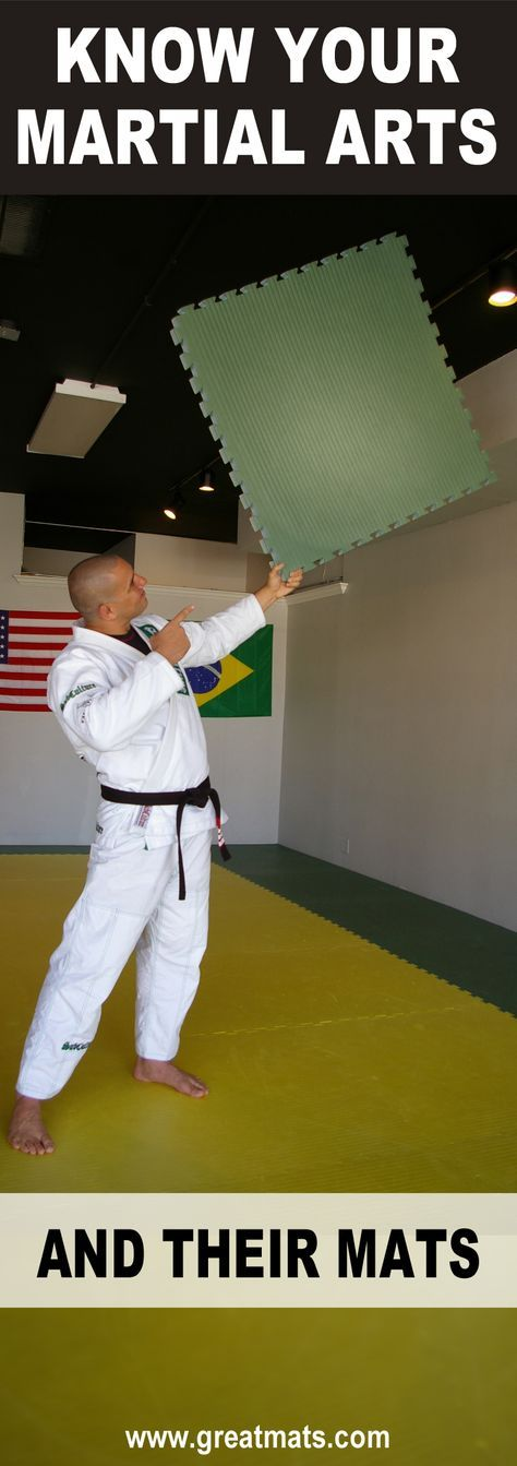 Your Guide to Martial Arts Mats - based on the discipline.