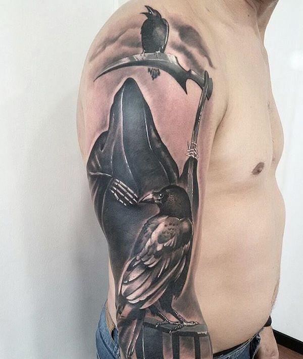 Grim Reaper Tattoo - 50 Grim Reaper Tattoo Designs