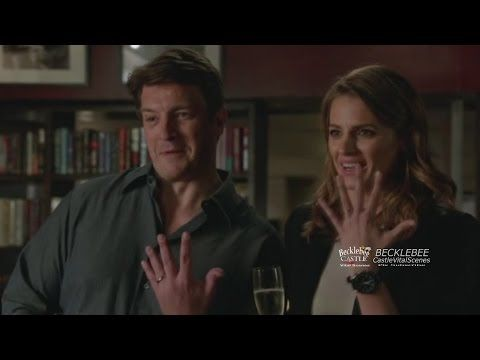 "Castle 5x08 ""After Hours"" Castle & Beckett Kiss (HD/CC) - YouTube"