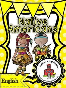 Native Americans   Click below for a video preview:    https://youtu.be/Pg3POuFYCGA