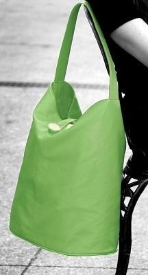 Isabella's Journey Bag Along Apple Green Bucket Tote ILBAAG