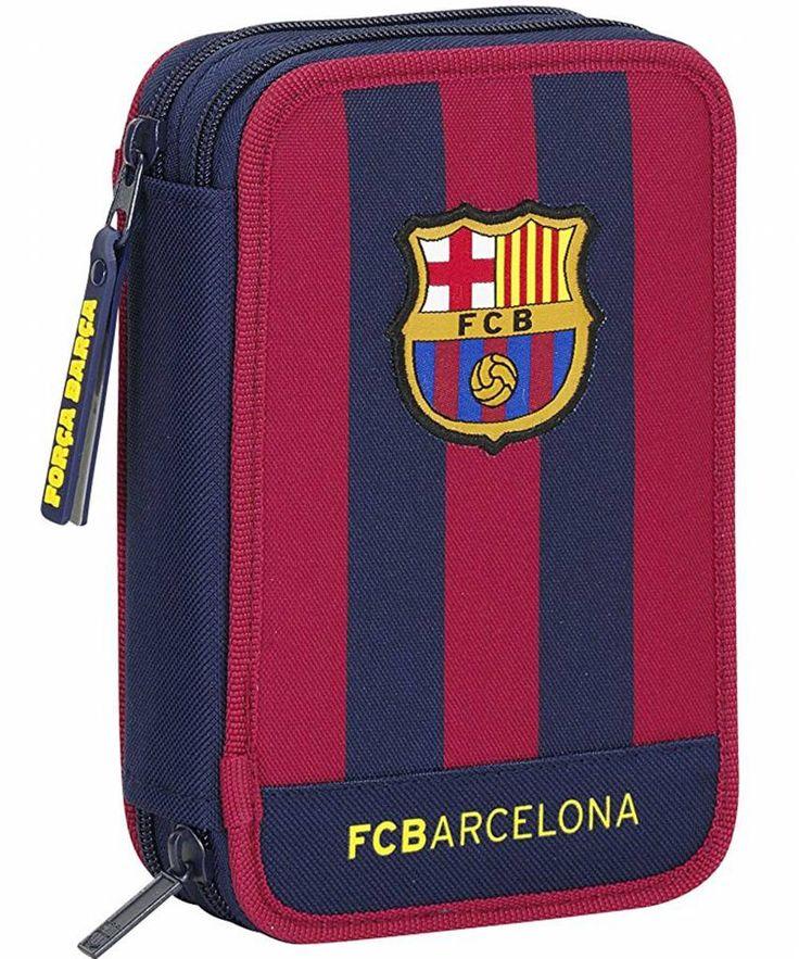 FC Barcelona Logo - Gevuld etui - 34 stuks - Multi