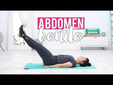 TONIFICA TU CUERPO | Ejercicios de cardio y fuerza para un abdomen bonito - YouTube