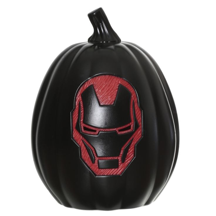 "Marvel 12"" Light Up Pumpkin - Iron Man"