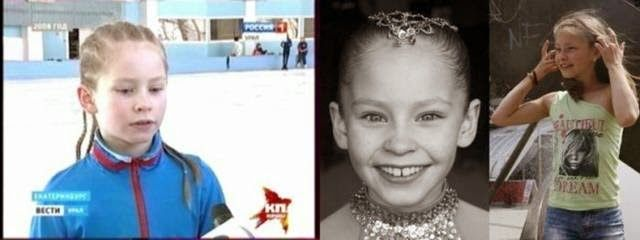 Russian Sports Star Julia Lipnitskaya in Childhood and Youth