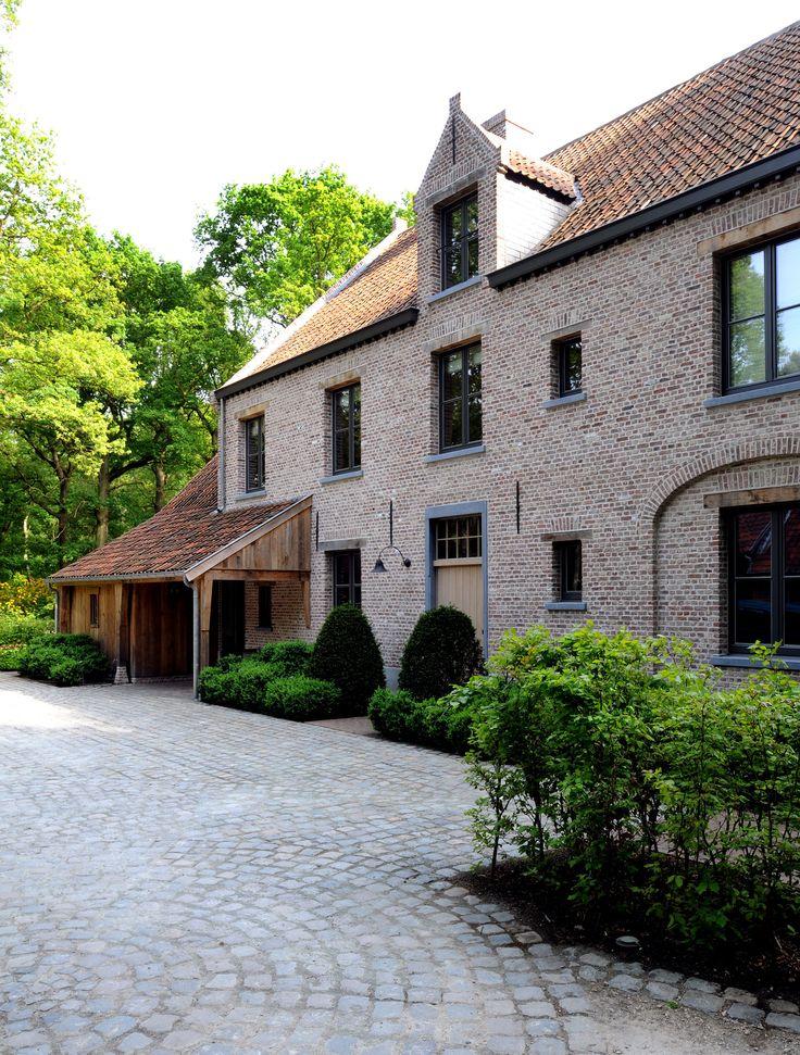 Belgium house - love the look.