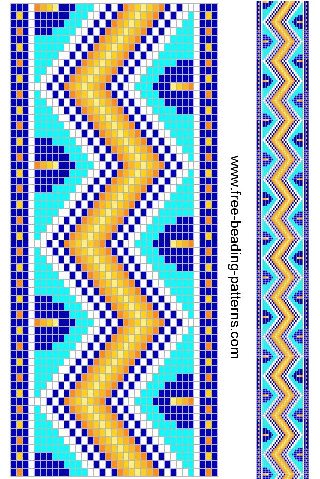 Beaded Guitar Strap Patterns Free Beading Pattern Guitar