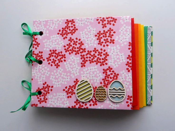 Envelope book - Easter theme