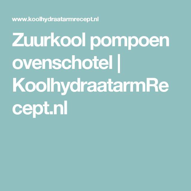 Zuurkool pompoen ovenschotel | KoolhydraatarmRecept.nl