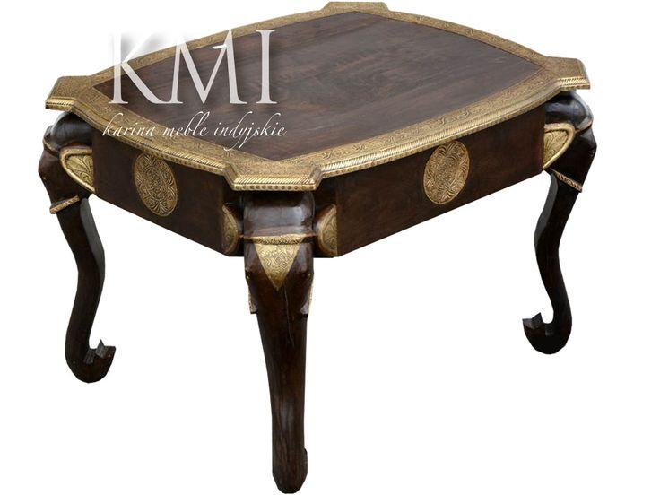 "indyjski stolik ""Elephant Table"""