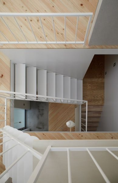 Steep stairs...