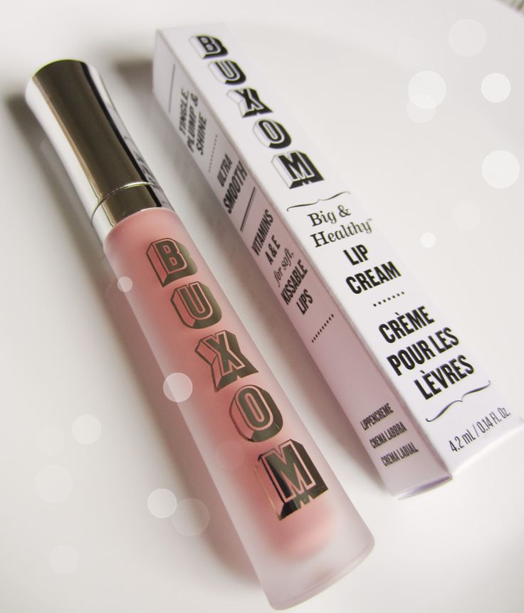 "Buxom Lip Cream in ""White Russian"" Really nice nude-pink gloss, has a plumping effect to it. #kathleenlightsrecommendation"