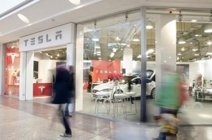 Tesla opens pop-up showroom at The Mall at Cribbs Causeway