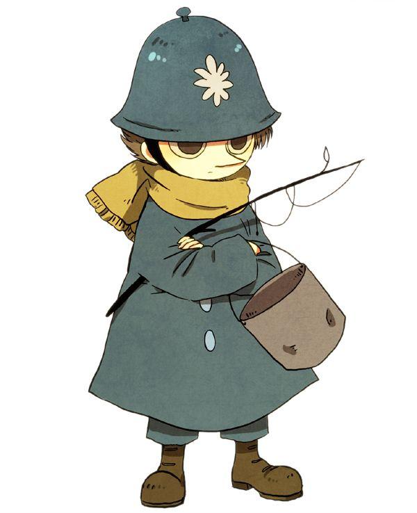 Police guard Snufkin?