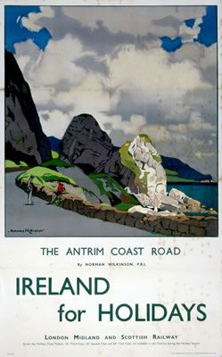 """NI006: The Antrim Coast Road All images are available as: 11x14"""" prints, 40x50…"""