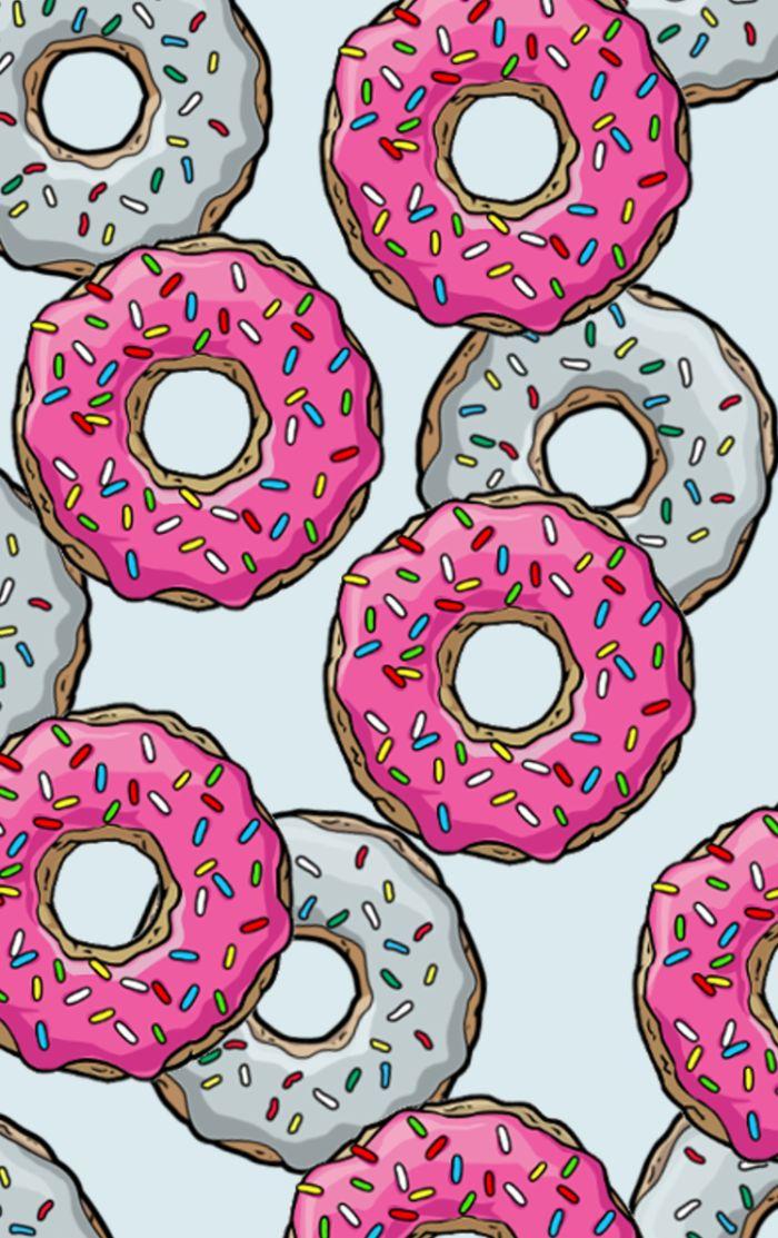 Cute Stucky Iphone Wallpaper 25 Beautiful Donut Background Ideas On Pinterest